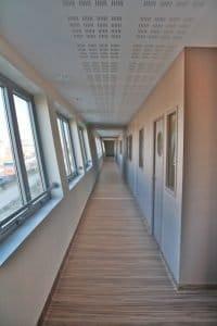 centre hospitalier vétérinaireveterinaire_languedocia_couloir